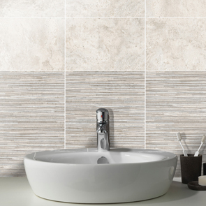 Tanami Dawn Shadow Satin Linear Tile - 300x200x8mm