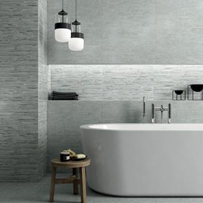 Franklin Dark Grey Matt Tile - 600x200mm
