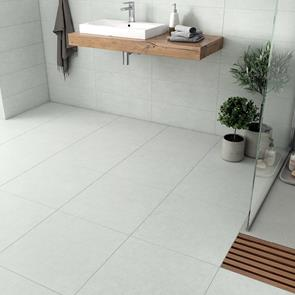 Franklin Zinc Matt Tile - 495x495mm