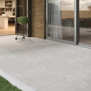 Optimal Antracite Outdoor Tile - 900x600x20mm
