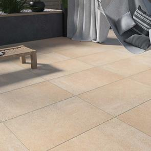 Optimal Beige Outdoor Tile - 900x600x20mm