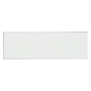 Step White Glossy Tile - 300x100mm