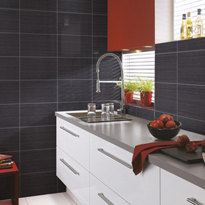 Elegant Antrasit Matt Tile - 400x250mm