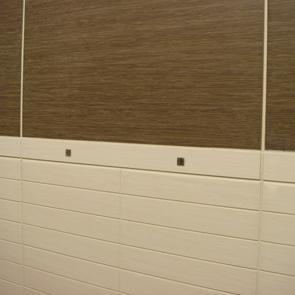 Elegant Cream Scored Matt Tile 400x250mm Wall Tiles