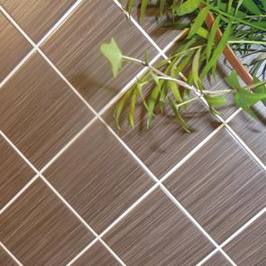 Elegant Mocha Tile - 100x100x6mm