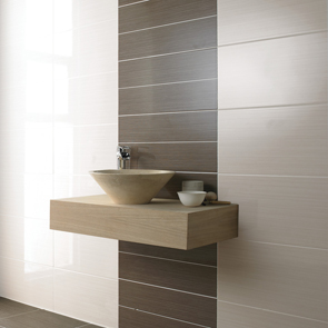 Allure Cream Gloss Tile - 400x250mm
