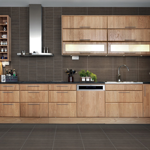 Allure Mocha Gloss Tile - 400x250mm