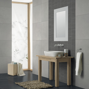 Vitra Sahara Grey Mosaic Tile - 150x30 mm