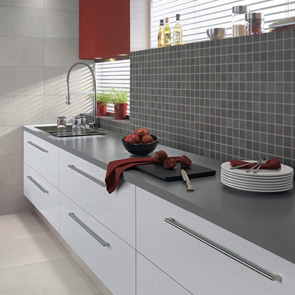 Vitra Sahara Grey Mosaic Tile - 50x50 mm