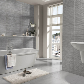 Montecarlo Light Grey Split Face Tile - 675x455mm
