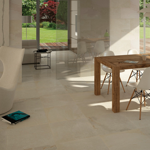 Rainforest White Matt Tile - 600x600mm
