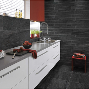 Pietra Pienza Antrasite Matt Rectified Tile - 600x600mm