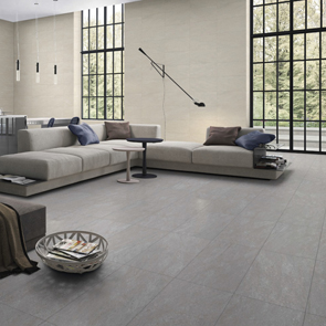 Pietra Pienza Light Grey Matt Rectified Tile - 900x450mm