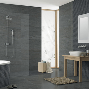 Pietra Pienza Dark Grey Matt Rectified Tile - 900x450mm