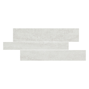 Pietra Pienza Rectified Light Grey Cut Decor 2 Tile - 600x300mm