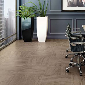 Motion Walnut Matt Tile - 600x300mm