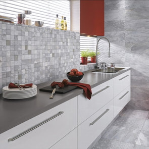 Nature Grey Mosaic Tile - 52.5x52.5mm (Sheet 330x330mm)