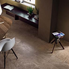Block Beige Structured Tile - 300x300mm