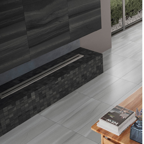 Linear Anthracite Tile - 600x300mm