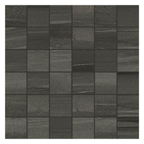 Linear Anthracite Mosaic Tile - 50x50mm (Sheet 300x300mm)