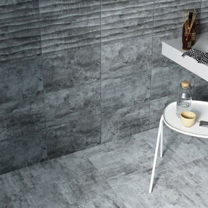 Cosy Grey Matt Tile - 400x250mm