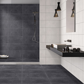 Traffic Anthracite Matt Tile - 600x300mm