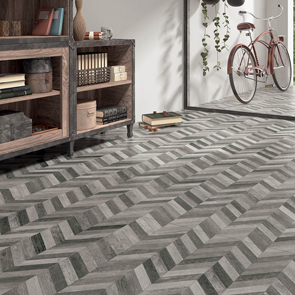 Ottawa Spiked Gris D 233 Cor Tile 720x240mm Wood Effect
