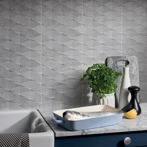 Rock Grey Art Tile - 690x240mm