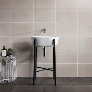 Cement Tech Mini White Tile - 400x250mm