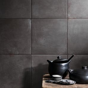 Cement Tech Mini Anthracite Tile - 450x450mm