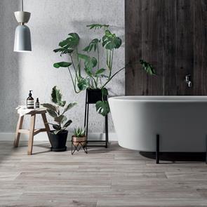 Aspenwood Greige Tile 1200x200mm Large Format Wood Tiles