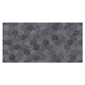 Buxy Antracita Hexagon Tile - 600x300mm