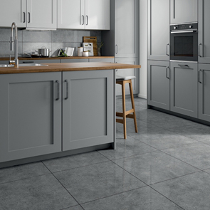 Elias Grey Gloss Tile - 600x600mm