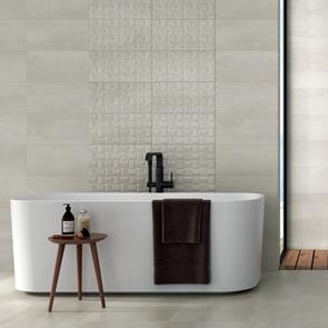 Barrington Art Cream Tile - 500x250mm