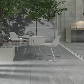 British Stone Grey Outdoor Tile - 600x600x20mm