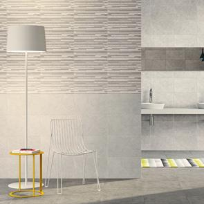 Dovedale Light Grey Tile - 400x250mm