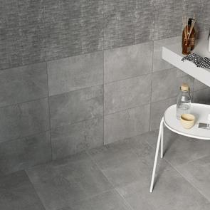 Cairn 2 Smoke Grey Tile - 450x450mm