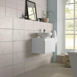Fairford Light Grey Tile - 450x450mm