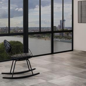 Cayman Grey Multi Colour Matt Tile - 600x600mm