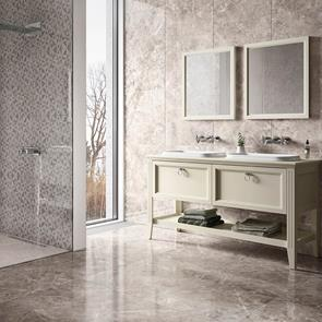 Dolomite Greige Gloss Tile - 300x200mm