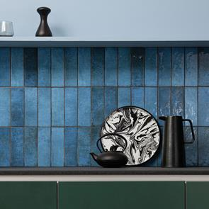 Dyroy Blue Tile - 200x65mm