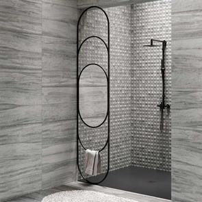 Bliss Grey Wall Tile - 690x240mm