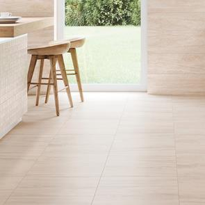 Bliss Cream Wall and Floor Tile - 500x500mm