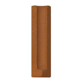 Quarry Red Cove Internal Angle Tile - 150mm