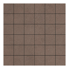 Vitra Sahara Soft Brown Mosaic Tile - 50x50 mm