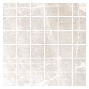 Nature Bone Mosaic Tile - 52.5x52.5mm (Sheet 330x330mm)