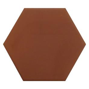 Esagona Cima Red Hexagon Tile - 100x100mm