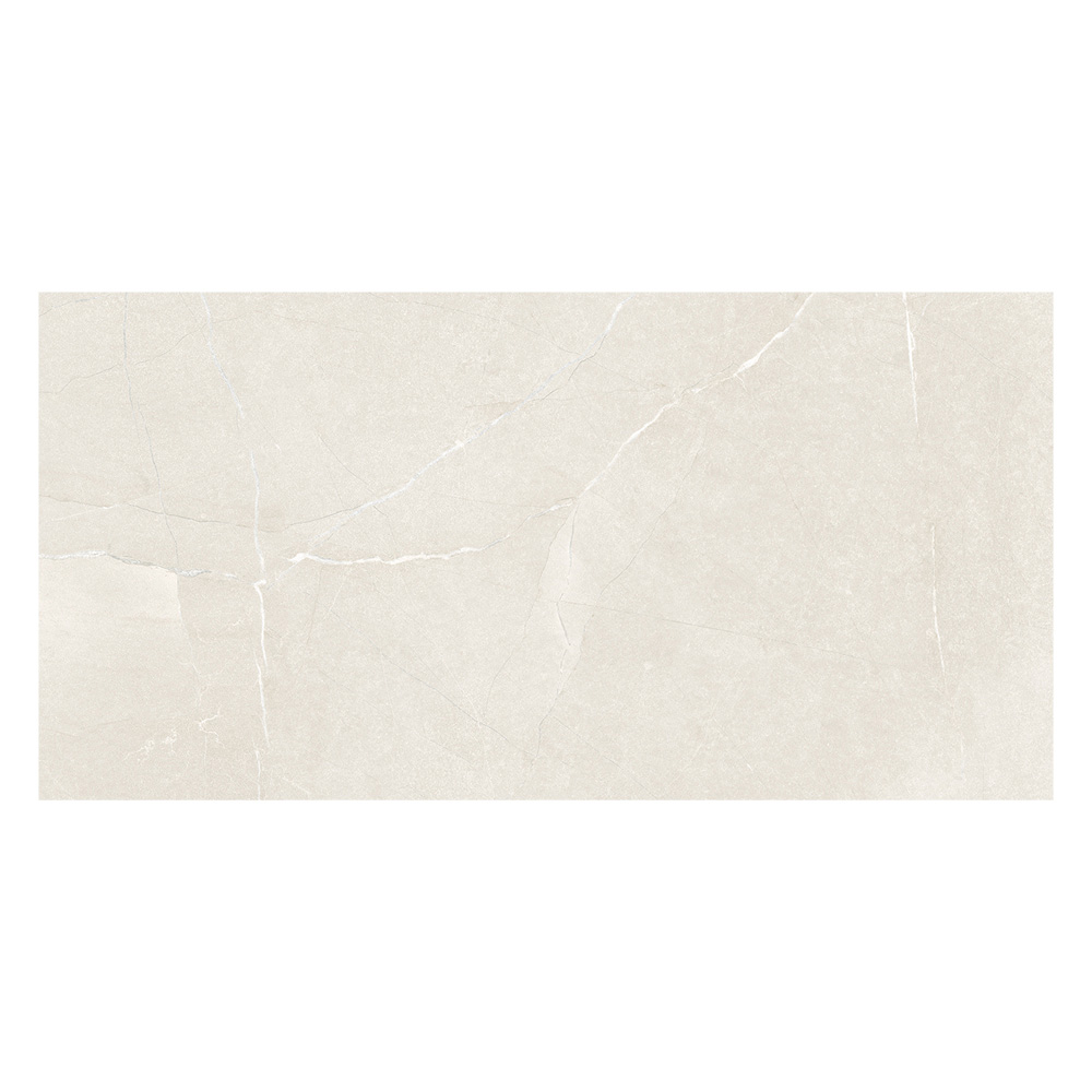 Castellon Ivory Marble Matt Tile - 600x300mm