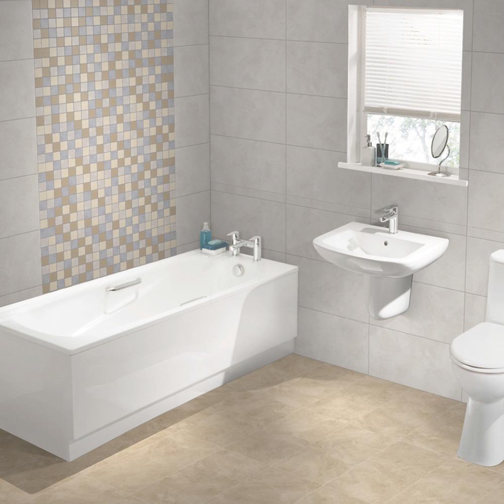 Natural Beauty Ivory Matt Tile 600x300mm - Wall & Floor Tiles - CTD ...