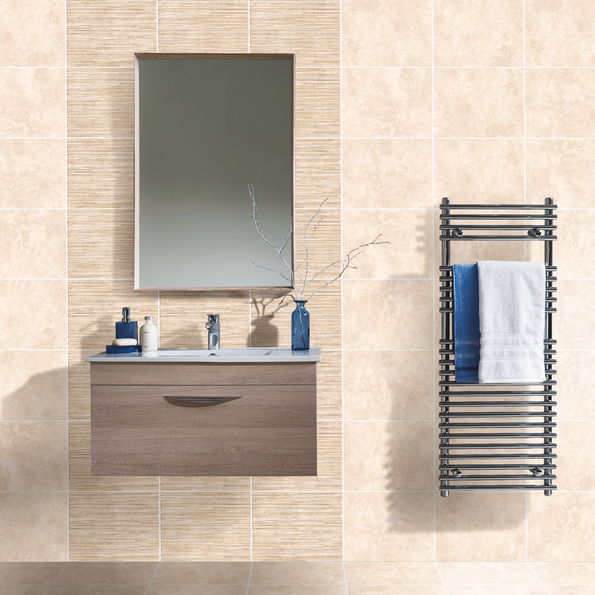 Accona Light Rock Satin Tile 360x275mm - Wall Tiles - CTD Tiles